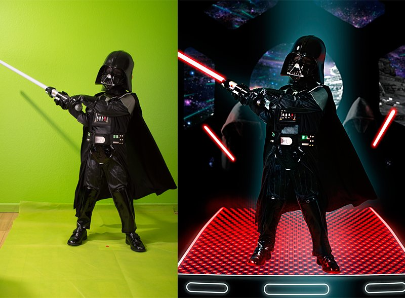 The force is with us on this one – Star Wars Themed Photoshoot