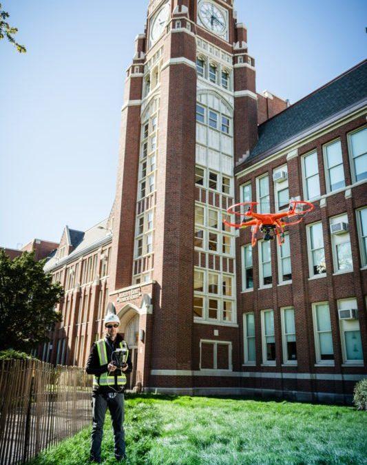 Brick Buildings, Drones & Mason Contractors – Photography