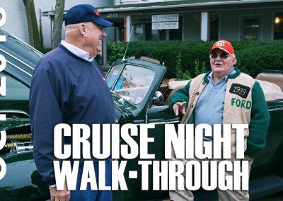 Cruise Night Walk-through October