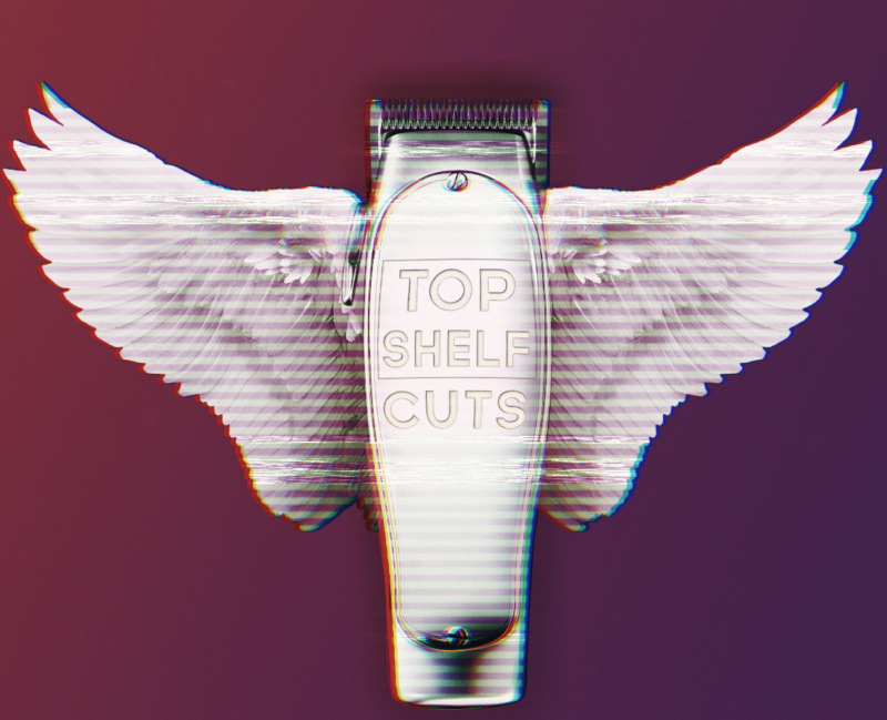 Top Shelf Cuts Barber Shop Logo